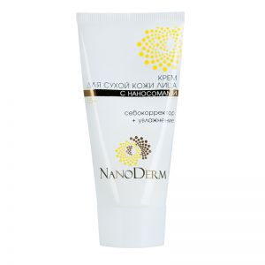 Nanoderm - Cream for dry skin with nanosomams 15 +